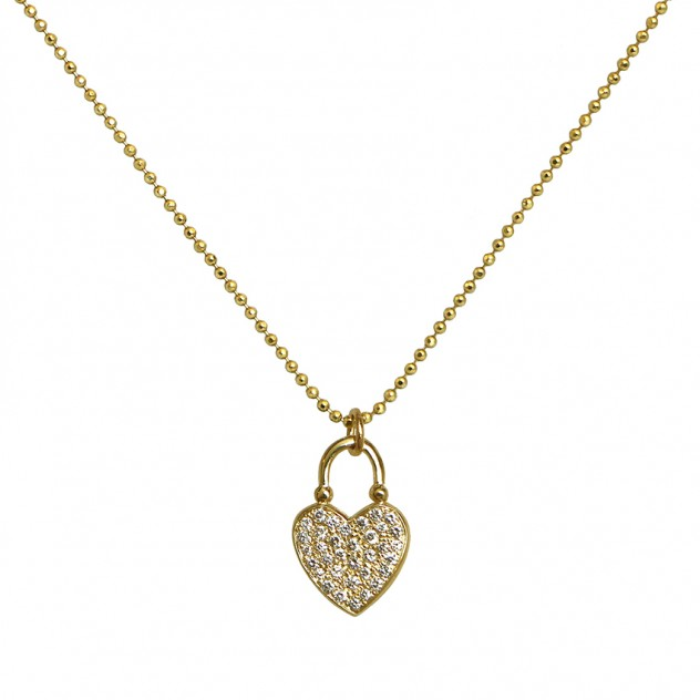 adore diamond necklace