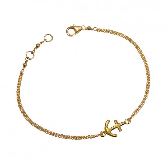 aubrey anchor bracelet