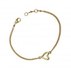 aubrey heart bracelet