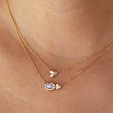 beloved diamond necklace