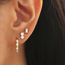 cadence diamond earrings