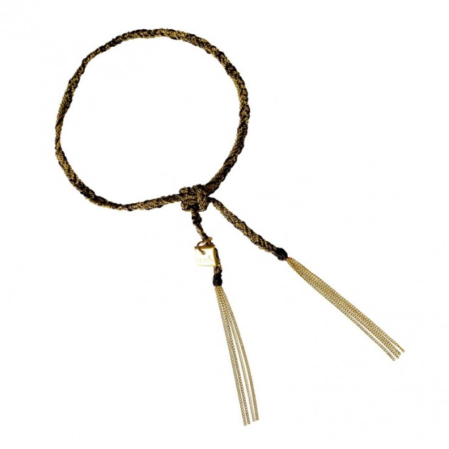 camille bracelet - black