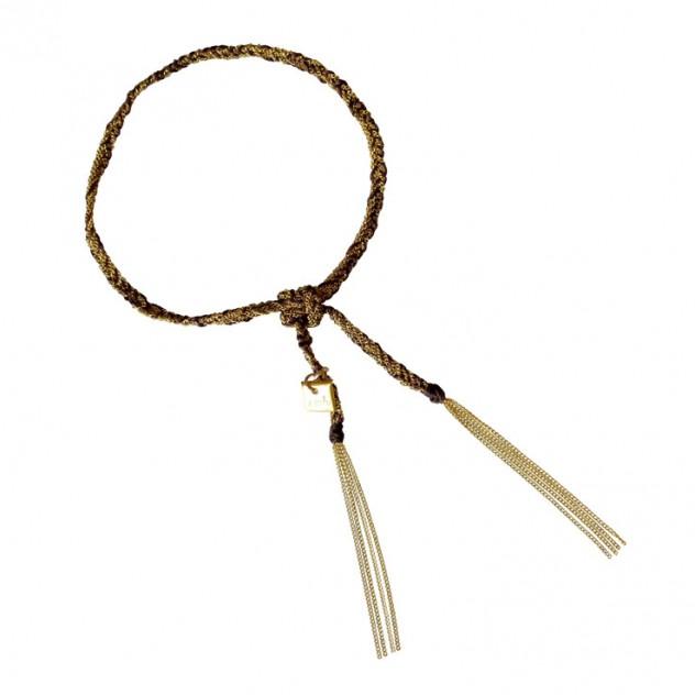 camille bracelet - brown