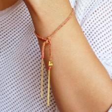 camille bracelet - coral