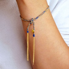 camille bracelet - marine blue