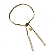 camille bracelet - green