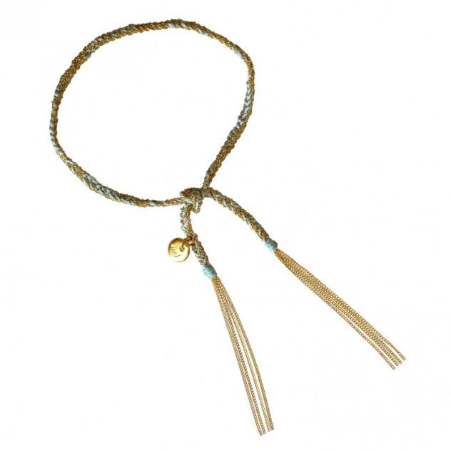 camille bracelet - light blue