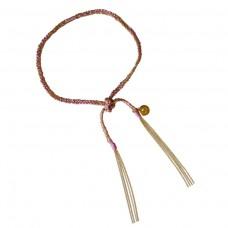 camille bracelet - pink