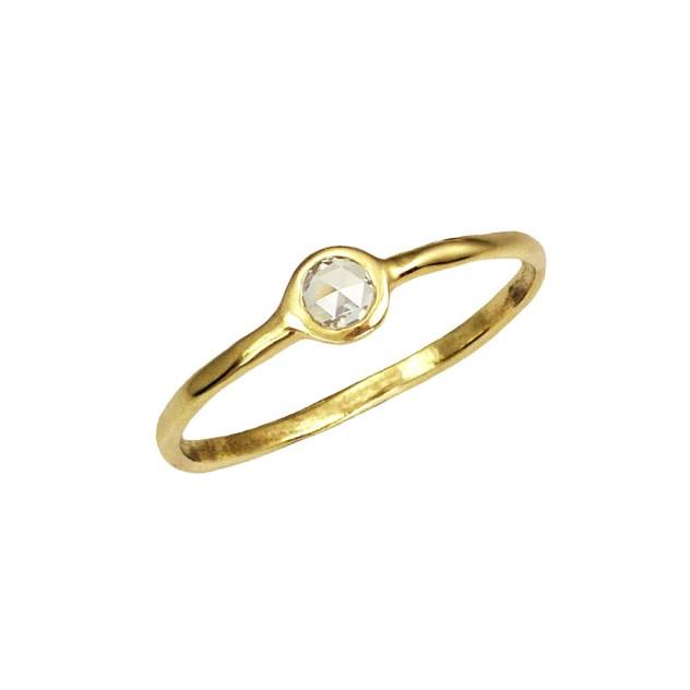 celine large diamond ring