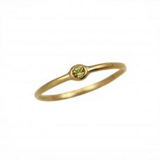 celine green sapphire ring