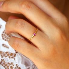 celine pink sapphire ring