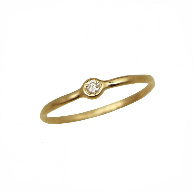celine small diamond ring