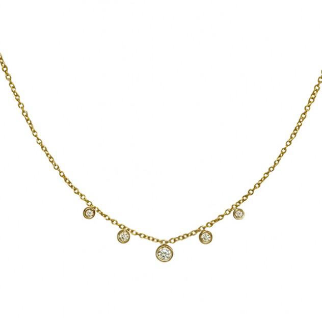 dew diamond necklace