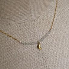 erin aquamarine necklace