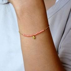 erin coral bracelet
