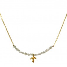 erin raw diamond necklace