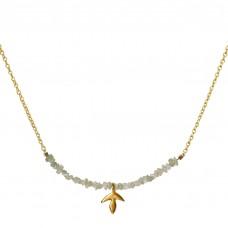 erin raw diamond necklace