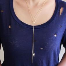 gemma lariat necklace