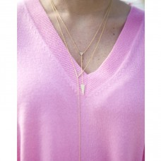 gemma lariat necklace