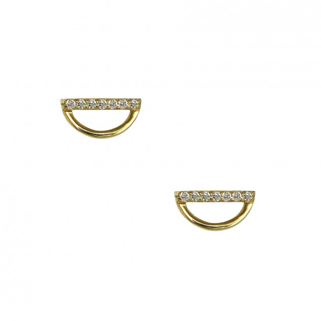 hanalei diamond earrings