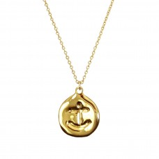 hannah anchor necklace