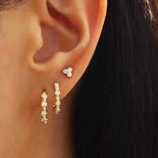 happy life diamond earrings
