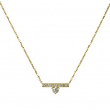 harmony diamond necklace