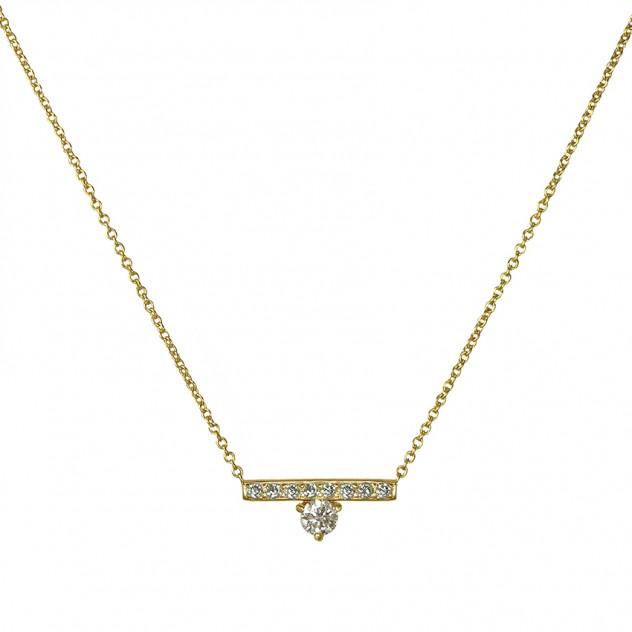 harmony diamond necklace