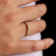hourglass diamond ring