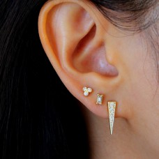 icicle diamond earrings