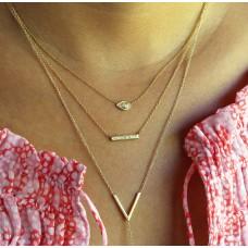 gazer diamond necklace
