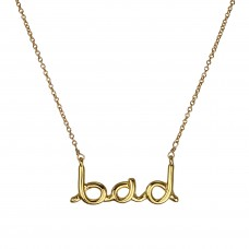 "jamie ""bad"" necklace"