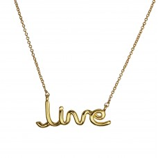 "jamie ""live"" necklace"
