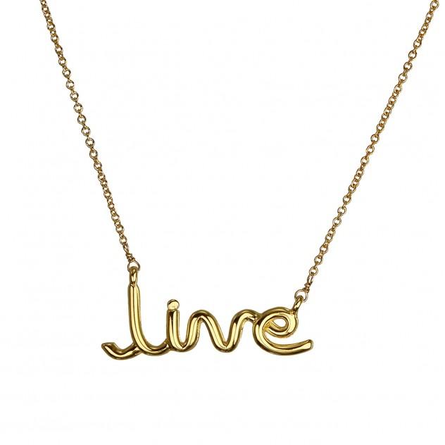 "jamie ""live"" necklace"