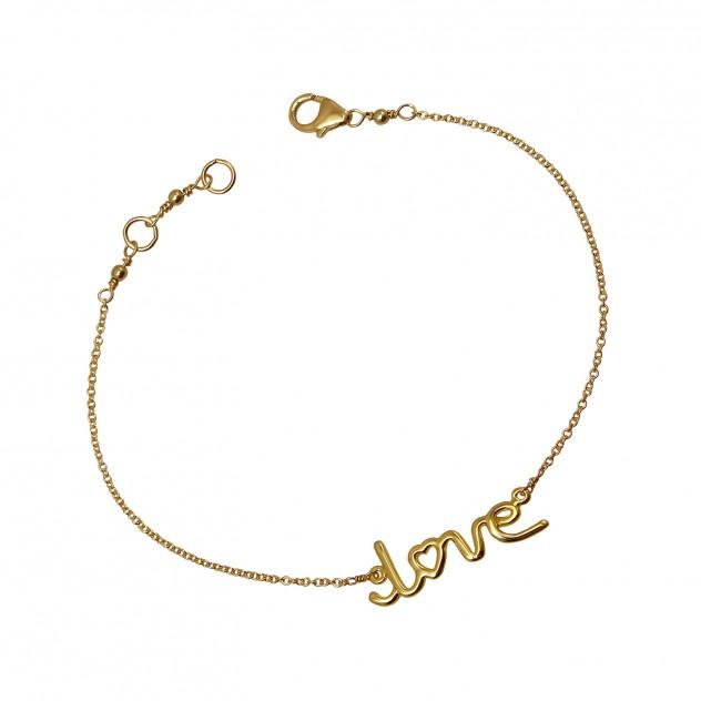 """jamie """"love"""" bracelet"""