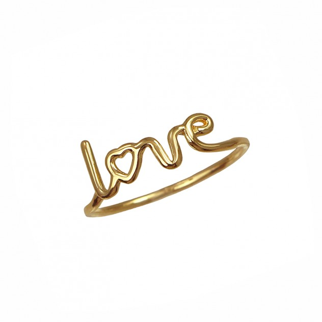 """jamie thin """"love"""" ring"""