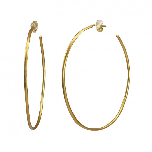 jordan thin large hoops