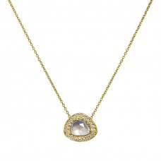 jubilee halo necklace