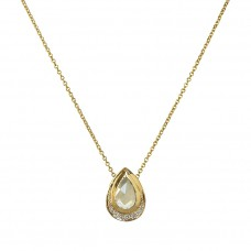 jubilee teardrop necklace