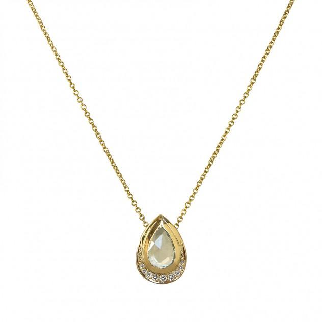 jubilee teardrop necklace