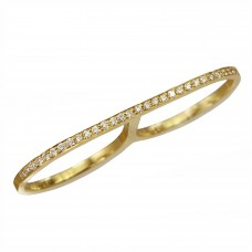 kat diamond double ring