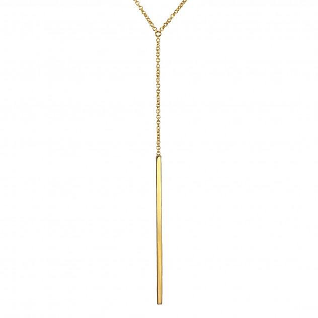 kat petite lariat necklace