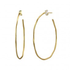 kenzie thin large hoops