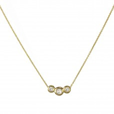 la vie diamond necklace