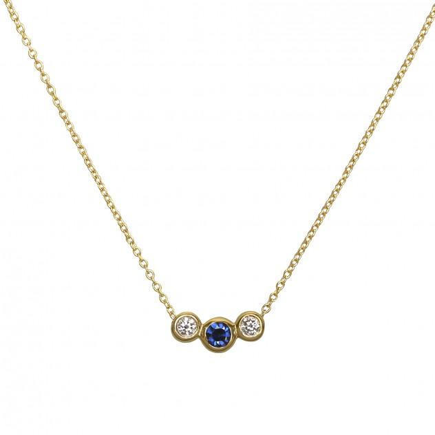 la vie sapphire necklace