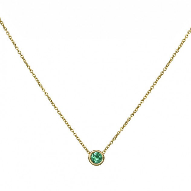 lagoon emerald necklace