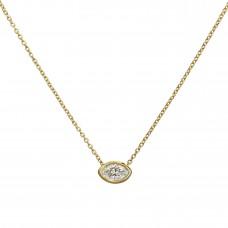 lagoon marquise diamond necklace