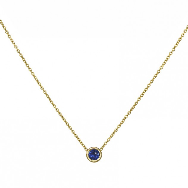 lagoon sapphire necklace