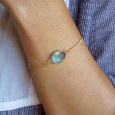 lana aqua quartz bracelet