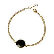 lana black agate bracelet